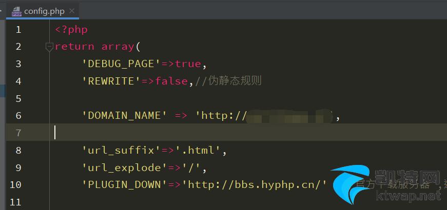 HYBBS程序伪静态设置方法